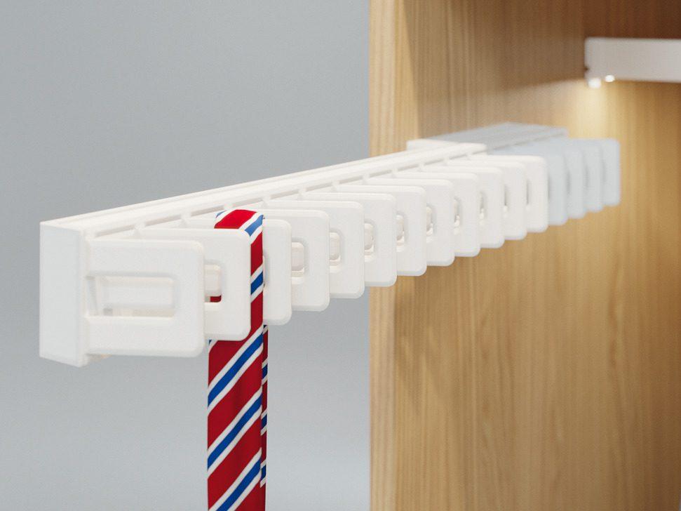 Выдвижной держатель для галстуков Häfele Dresscode