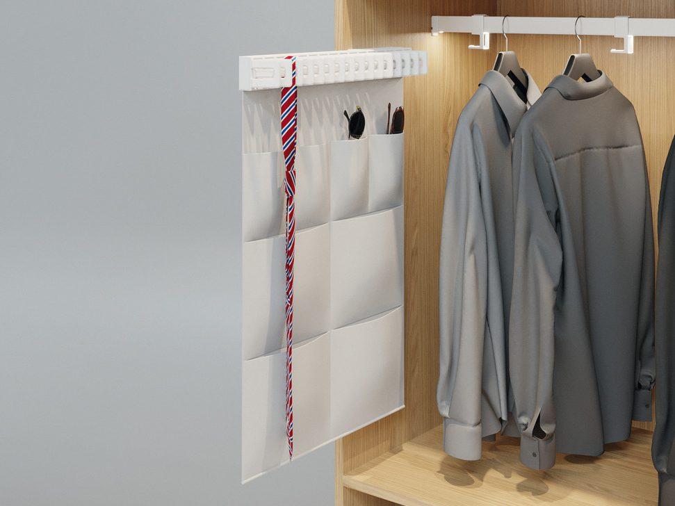 Органайзер для выдвижного держателя галстуков Häfele Dresscode